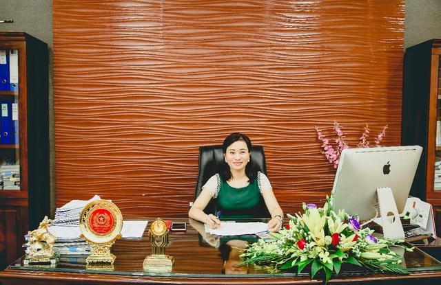 Bà Cao Thị Thu Hiền – Tổng giám đốc Công ty Cổ phần Nam Tiến Lào Cai