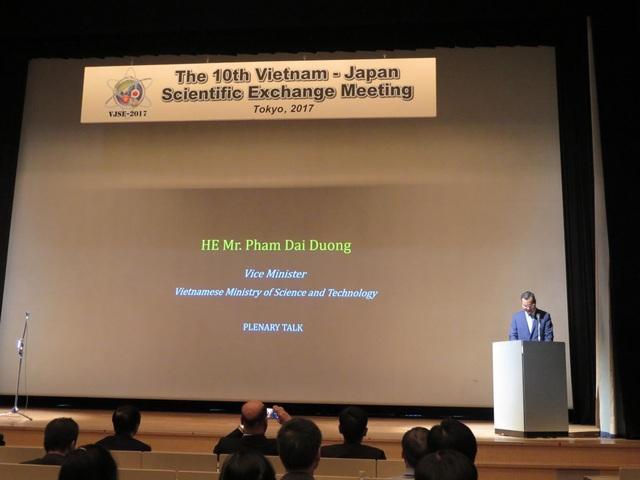 Thứ trưởng Phạm Đại Dương phát biểu tại Hội nghị (ảnh: Phương Uyên).