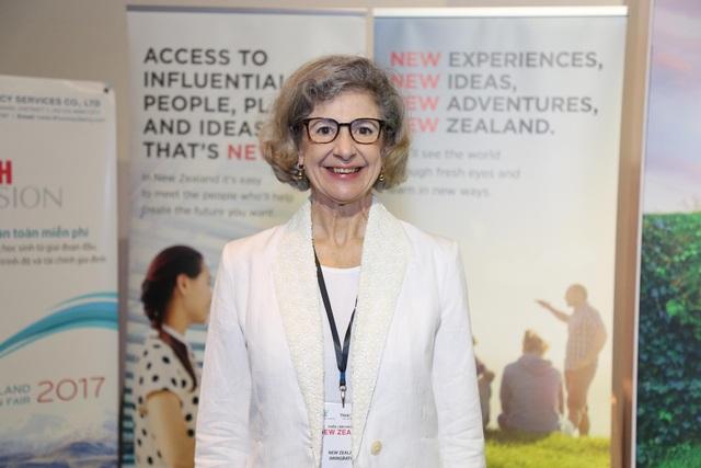 Bà Karlene Davis - Tổng lãnh sự New Zealand tại khu vực TP.HCM
