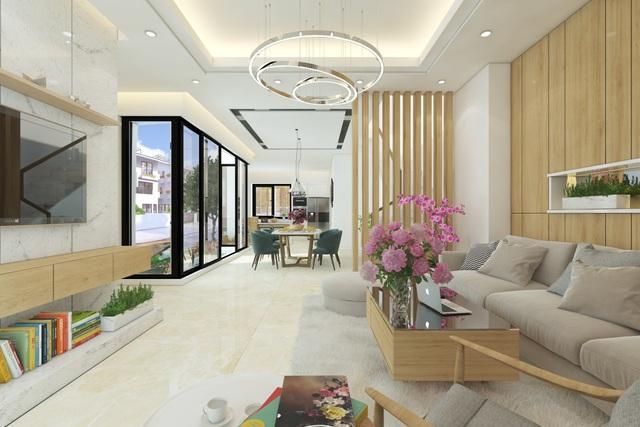 Biệt thự song lập Iris Homes với thiết kế kiến trúc hướng tới 4 phong cách nội thất mang vẻ đẹp trường tồn mãi với thời gian