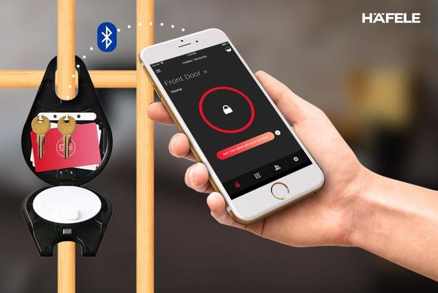 Hình 2: Hộp khóa thông minh Smart Keybox