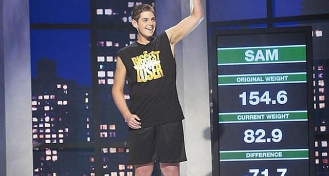 """Sam là người chiến thắng trong chương trình giảm cân """"The Biggest Loser"""" năm 2008"""