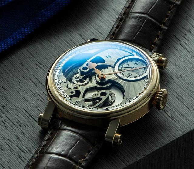 Đẳng cấp phiên bản đồng hồ mặt số 3D của Speake-Marin - 4