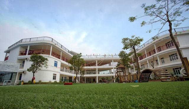 Trường học đã đi vào hoạt động trong KĐT Hồng Hà Eco City