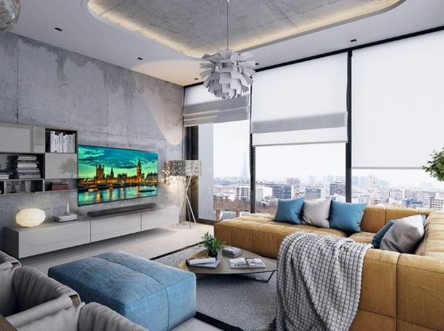 Căn phòng khách vừa trở thành phòng giải trí gia đình với các trải nghiệm tuyệt vời từ những công nghệ tiên tiến nhất.