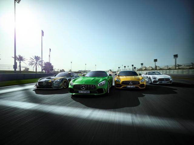 Năm 2017 sẽ là kỷ niệm 50 năm thành lập thương hiệu Mercedes-AMG