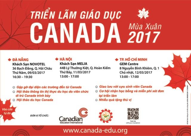 Triển lãm giáo dục Canada mùa Xuân 2017 - 5