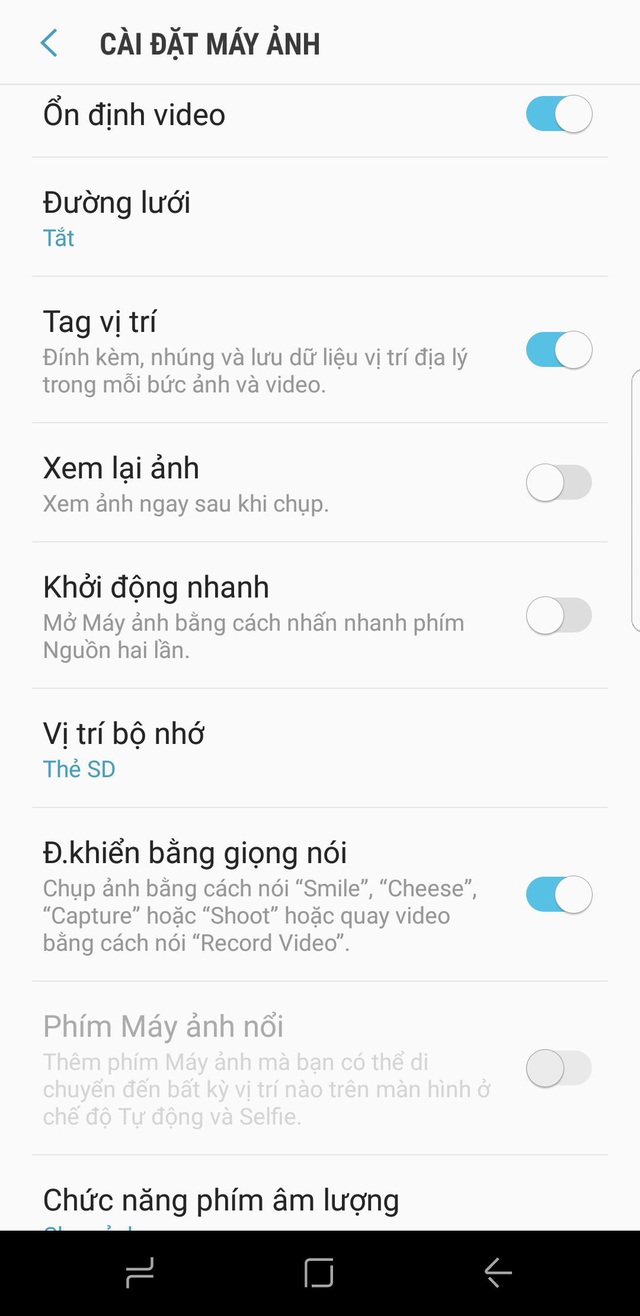 Những thủ thuật hay từ màn hình vô cực và camera của Galaxy S8 - 5