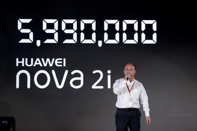 Huawei nova 2i có giá 5,9 triệu trong lễ ra mắt sản phẩm ngày 10/10