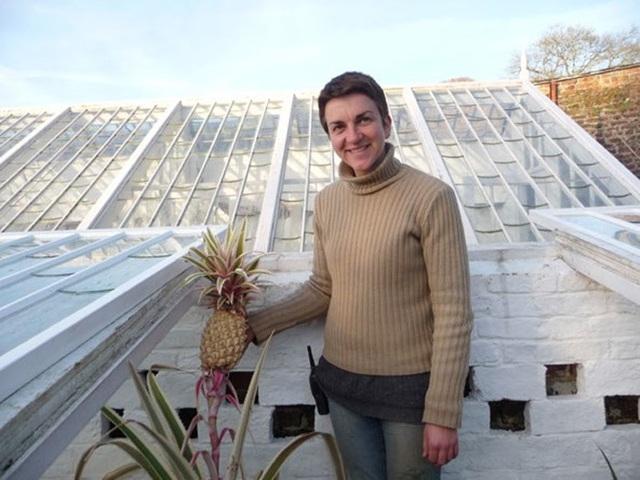 Nicola Bradley – giám sát năng suất vườn bên thành quả