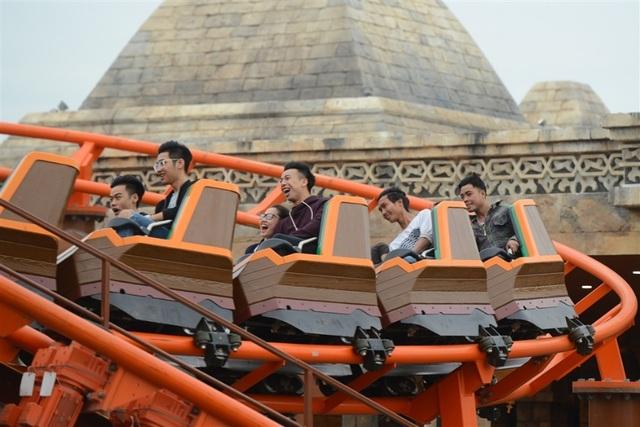 """""""Niềm vui tột đỉnh tại công viên chủ đề lớn nhất Đông Nam Á Dragon Park"""" - 6"""