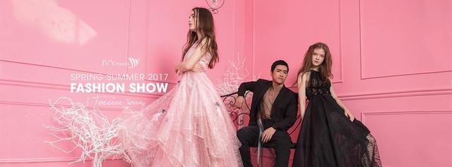 IVY moda Spring Summer Fashion Show 2017 là những thay đổi mạnh mẽ trong sáng tạo các thiết kế
