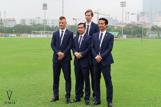 Veneto - Thương hiệu thời trang tài trợ lễ phục cho U20 Việt Nam trong mùa Worldcup 2017 - 6