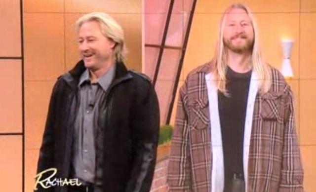 Hình ảnh khác biệt của Bret trước và sau khi thay đổi