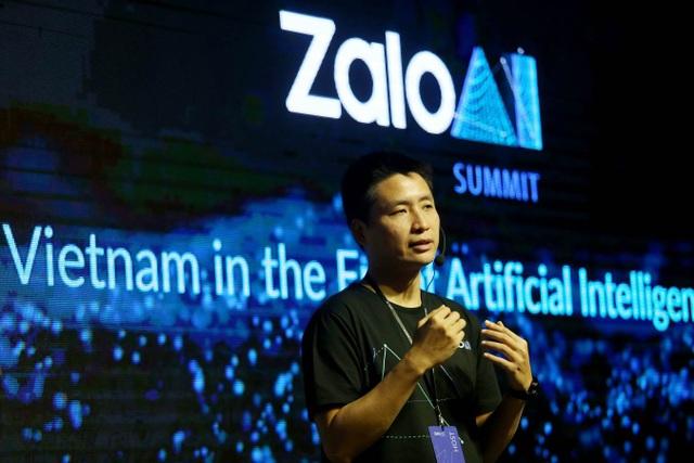 Ông Vương Quang Khải, Thạc sĩ khoa học máy tính tại đại học Columbia (Hoa Kỳ), lãnh đạo tại Zalo