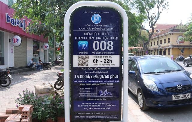 Theo quy định số tiền mà người lái xe phải trả là 15 nghìn đồng/giờ đỗ xe. Nếu hết thời gian lái xe chưa lái ô tô đi thì phải nhắn một tin tiếp theo để mua thêm giờ. Theo một số khách hàng thì giá như vậy là hợp lý, tránh tình trạng lộn xộn về giá ở nhiều điểm đỗ như trước đây.