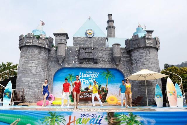 Sân khấu lâu đài với chương trình nghệ thuật múa lửa, khiêu vũ thể thao nhí – chỉ duy nhất trong ngày 1.6