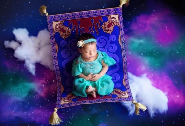 """Công chúa Jasmine mang vẻ đẹp thần bí trong bộ phim """"Alladin và cây đèn thần"""""""