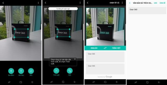 Bixby cũng có thể quét và dịch những cụm từ tiếng nước ngoài hoặc chuyển đổi hình ảnh có chữ thành đoạn văn bản nhanh chóng. Điều này giúp người dùng tiết kiệm thời gian và tối giản thao tác khi cần tìm kiếm thông tin.