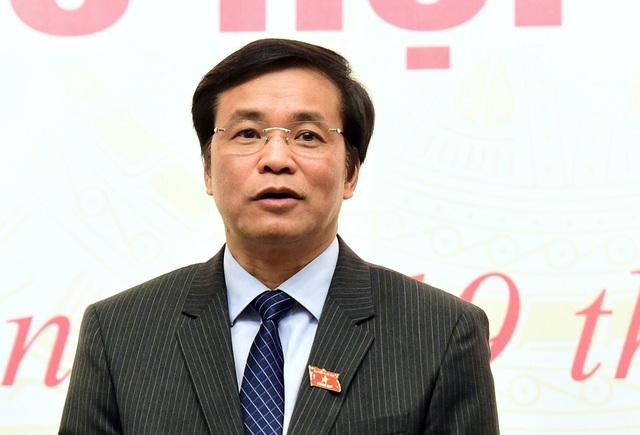 Ông Nguyễn Hạnh Phúc - Tổng Thư ký Quốc hội giải thích việc ông Võ Kim Cự xin thôi đại biểu Quốc hội