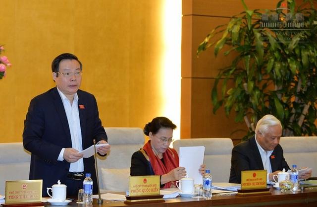 Phó Chủ tịch Quốc hội Phùng Quốc Hiển quán triệt quan điểm không đưa quy định ưu tiên cho đối tượng nào vào luật.