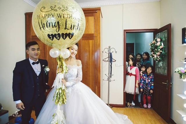 Phước Hưng – Khánh Linh ngọt ngào trong lễ đón dâu