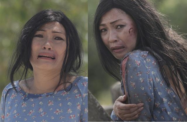 Diễn xuất nhập tâm của Phương Thanh đã khiến những người có mặt tại rạp phim không kìm được nước mắt.