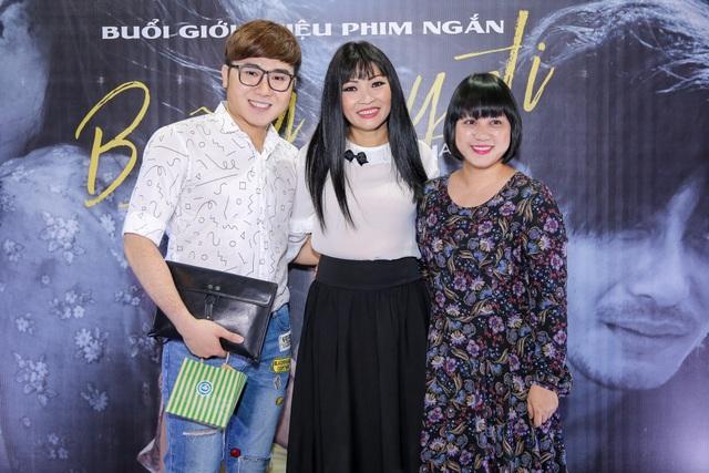 Ca sĩ Ngọc Linh đã rút lui khỏi giới giải trí nhưng chị vẫn đến để ủng hộ Phương Thanh