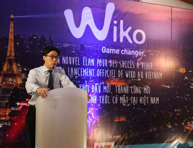 Đại diện Đại sứ quán Pháp rất ủng hộ và tin tưởng vào sự phát triển của Wiko.