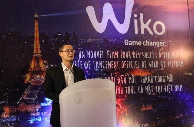 Đại diện Wiko, ông Đỗ Nam Trung hoàn toàn tin tưởng vào tiềm năng của Wiko ở Việt Nam với hướng đi khác biệt.