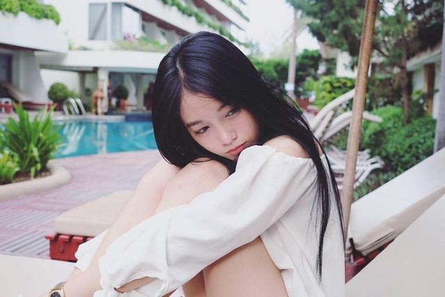 """""""Hot girl học trò"""" Thái Lan xinh đẹp hút hồn trong bộ đồng phục - 11"""