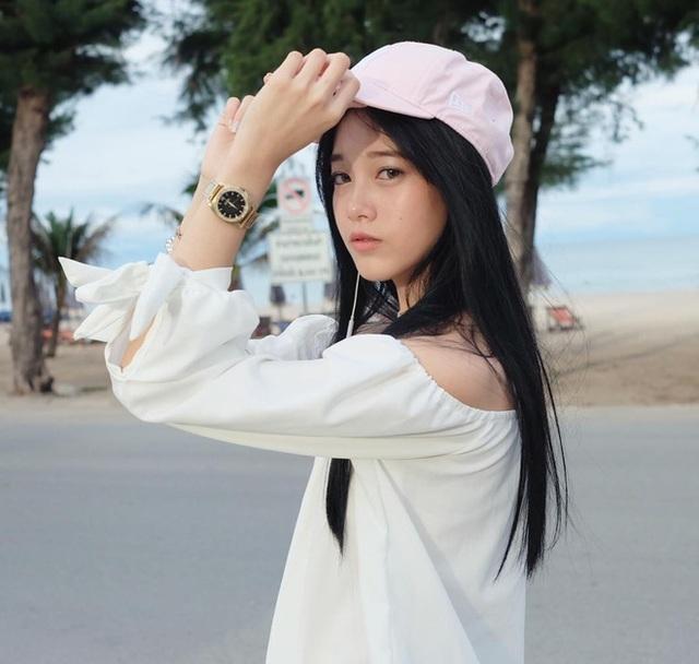 """""""Hot girl học trò"""" Thái Lan xinh đẹp hút hồn trong bộ đồng phục - 9"""