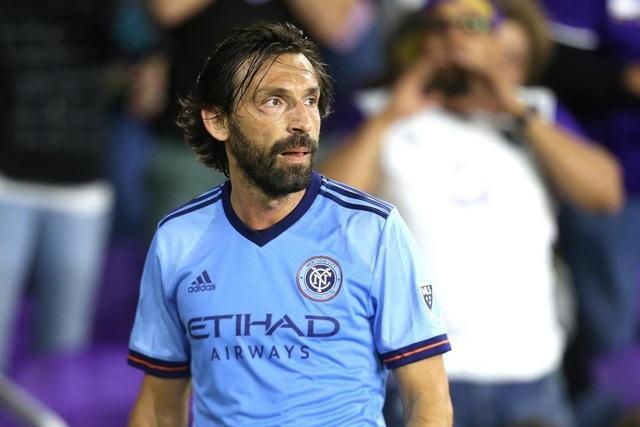 Pirlo chính thức giải nghệ trong màu áo New York City