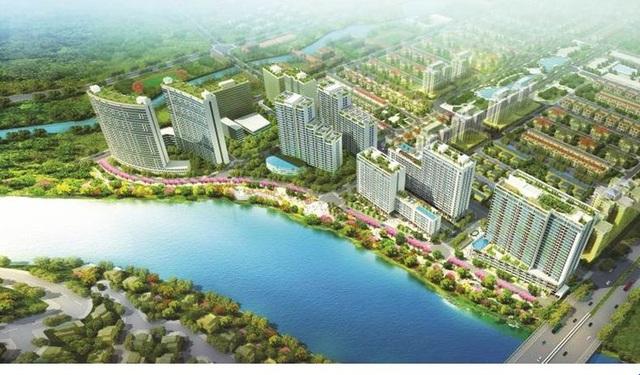 Vào tới Midtown, cư dân sẽ tận hưởng cành quan ven dòng sông thơ mộng và công viên hoa anh đào tuyệt mỹ, độc đáo nhất ở Việt Nam.