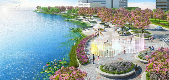 Và nếu tụ họp đông đủ bạn bè và người thân, còn gì thú vị hơn những không gian, cảnh quan bên công viên bờ sông Sakura Park nằm ngay trước mặt The Symphony. Nếu đúng dịp hoa anh đào nở, trò truyện dưới gốc anh đào và ngắm hoa là 1 trải nghiệm độc đáo mà chỉ ở Midtown mới có được.