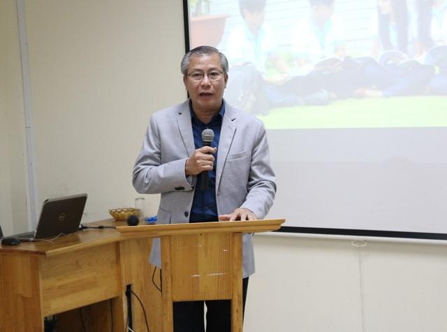Ông Lê Hữu Hạnh – Phó Tổng Giám đốc PNJ phát biểu tại buổi lễ ký kết