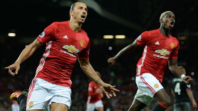 Ibrahimovic và Pogba có tên trong danh sách đăng ký của MU ở trận đấu với Newcastle