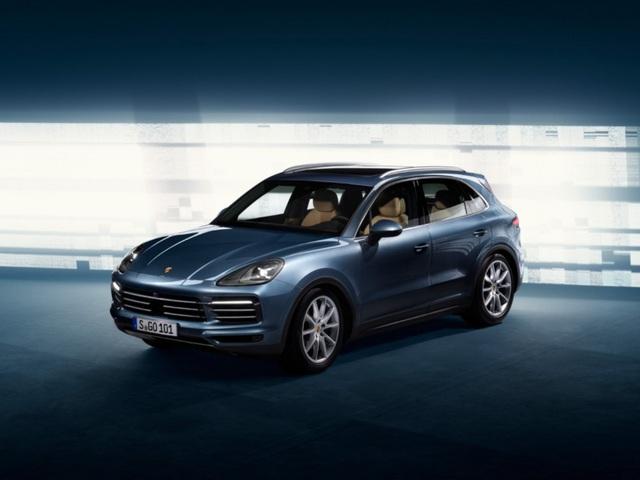 Porsche Cayenne thế hệ mới lộ diện trước giờ G - 1