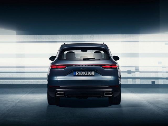 Porsche Cayenne thế hệ mới lộ diện trước giờ G - 8