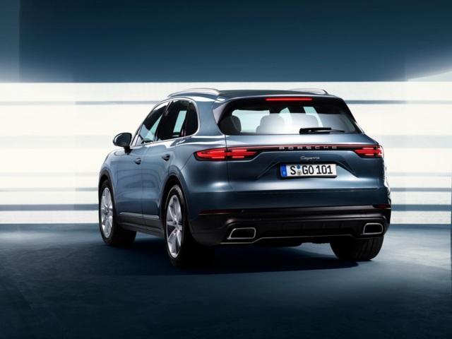 Porsche Cayenne thế hệ mới lộ diện trước giờ G - 7