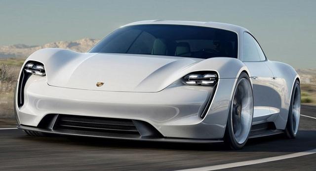 """Porsche """"đặt cược"""" vào xe chạy điện - 1"""