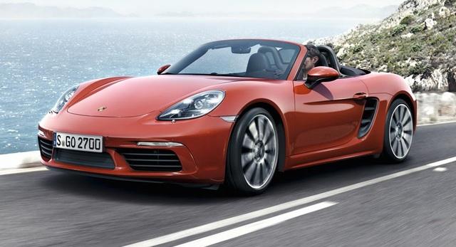 Porsche nhận bằng sáng chế cho túi khí cột A - 1