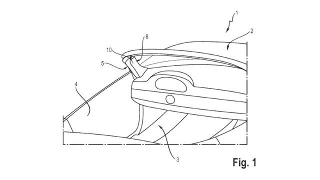 Porsche nhận bằng sáng chế cho túi khí cột A - 2