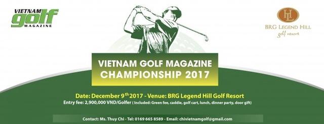 Vietnam Golf Magazine Championship 2017