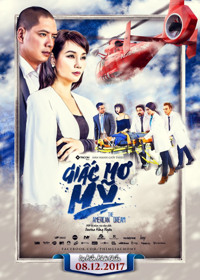 Giấc mơ Mỹ - The American Dream là bộ phim điện ảnh xoay quanh đề tài y khoa đầu tiên ở Việt Nam, có hơn 60% bối cảnh quay tại Mỹ.