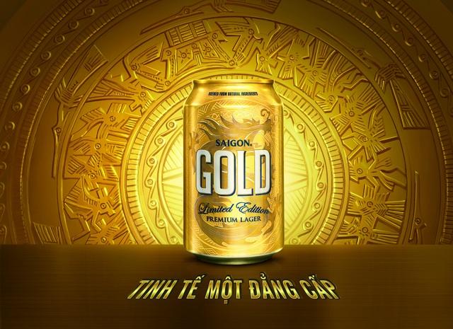 Sản phẩm mới của Sabeco: Saigon Gold gây ấn tượng mạnh trên thị trường cả về thiết kế và chất lượng bia