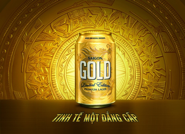 Mới ra mắt đầu tháng 8, nhưng Saigon Gold đã gây nên cơn sốt trên thị trường bia nội
