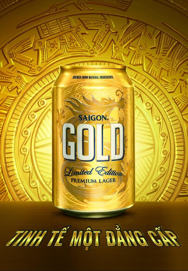 Saigon Gold được kỳ vọng tạo nên một chuẩn mực mới cho bia nội