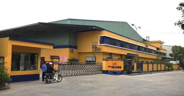 Nhà máy sơn Falcon tại Bắc Ninh