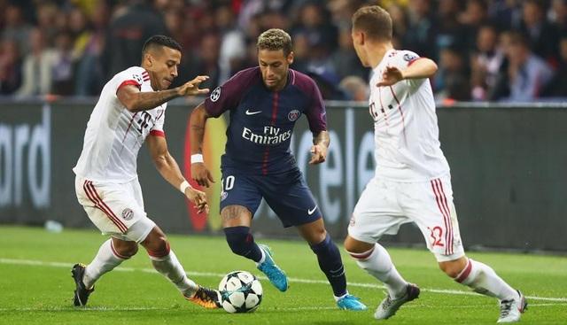 Bayern Munich đã thúc thủ với tỷ số 0-3 trước PSG ở lượt đi